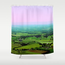 Eternal Horizons Shower Curtain