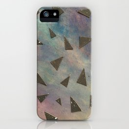 dark space meets color iPhone Case