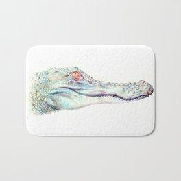 Albino Alligator Bath Mat
