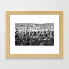 Un air d'accordéon Framed Art Print