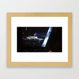 BU Framed Art Print