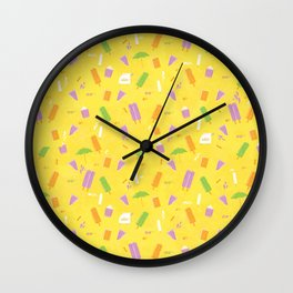 Popcicle Summer Wall Clock