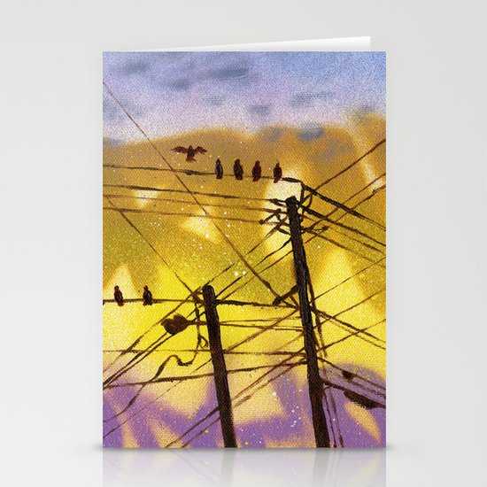 High Wire Act Stationery Cards