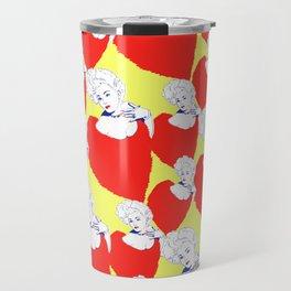 Stone Cold Fox - 'She Shoulda Said No' Poster Pattern Travel Mug
