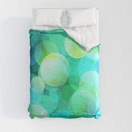 Green Bubble Comforters