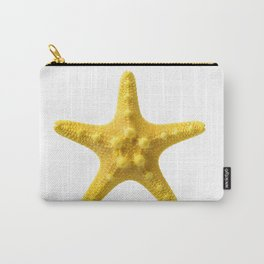 Yellow starfish Carry-All Pouch