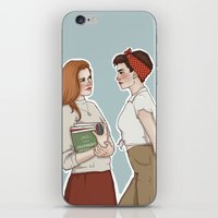 lydia martin iPhone & iPod Skins featuring Allison Argent/Lydia Martin 50's AU by vulcains
