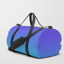 Hipster deep sea gradient Duffle Bag