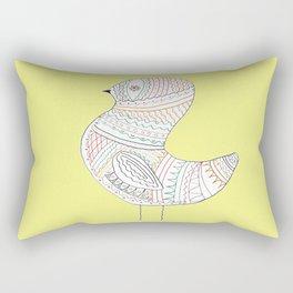 GOLDEN BIRD TWO Rectangular Pillow