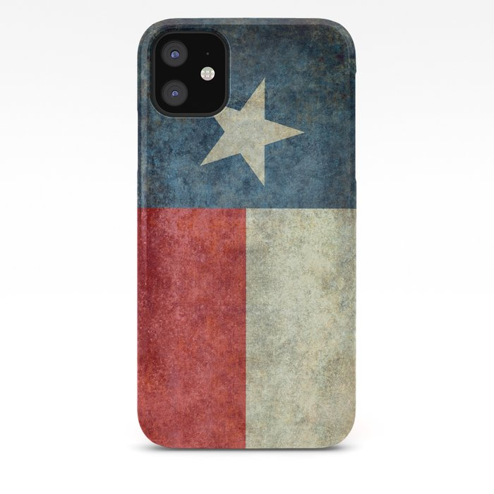 Texas flag iPhone Case