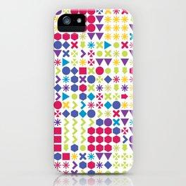 Fun Pattern iPhone Case