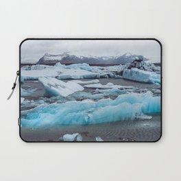 Jökulsárlón Glacier Lagoon, Iceland Laptop Sleeve