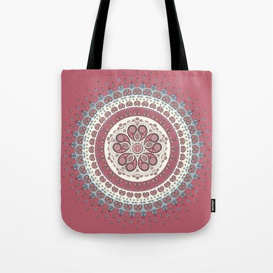 Mandala Paisley - Love Tote Bag