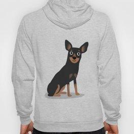 Min Pin - Cute Dog Series Hoody