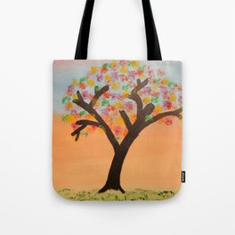 The First Sign of Fall Tote Bag