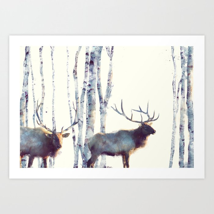 Elk // Follow Art Print