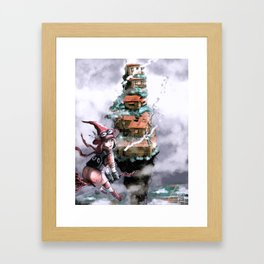 Witch Mountain Framed Art Print