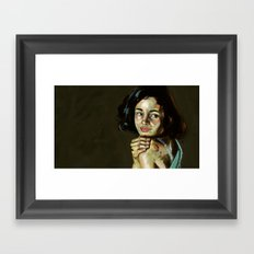 Princess Moanna Framed Art Print