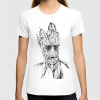 groot T-shirts featuring Groot by Giorgia Ruggeri