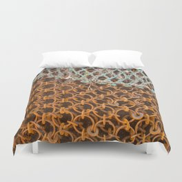 texture - connections Duvet Cover