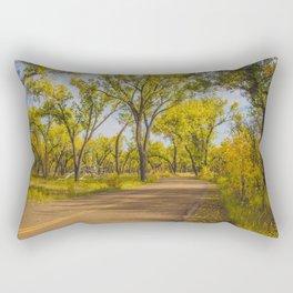 Cottonwoods, Theodore Roosevelt NP, ND 1 Rectangular Pillow