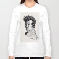 tom waits Long Sleeve T-shirts featuring TOM WAITS by Simone Bellenoit : Art & Illustration