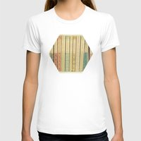 library T-shirts featuring Old Books by Cassia Beck