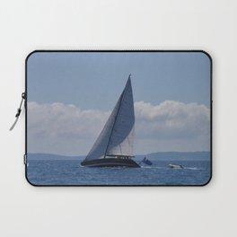 Modern Racing Yacht Laptop Sleeve