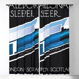 Caledonian Sleeper London Scotland Blackout Curtain