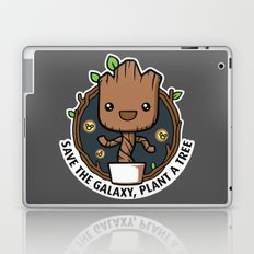 Save the Galaxy, Plant a Groot Laptop & iPad Skin