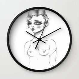 Temptation Wall Clock
