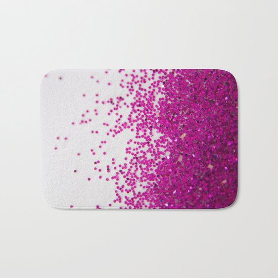 Fun I (NOT REAL GLITTER) Bath Mat