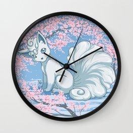 Alolan Vulpix Wall Clock
