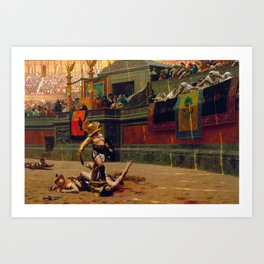 Jean-Leon Gerome - Pollice Verso - Digital Remastered Edition Art Print
