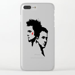 Tyler & Jack Clear iPhone Case