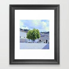 Urban tree Framed Art Print