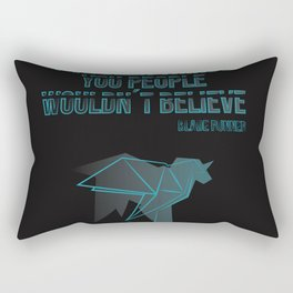 I´ve seen things you people woudn´t believe Rectangular Pillow