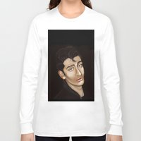 alex turner Long Sleeve T-shirts featuring Alex Turner by Alfonso Aranda