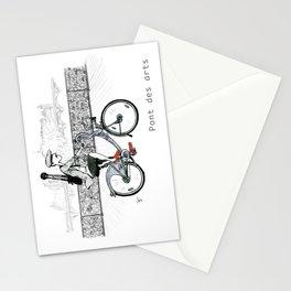 A Few Parisians: Pont des Arts Stationery Cards