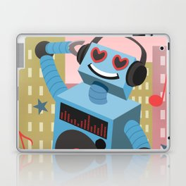 Robot DJ Laptop & iPad Skin