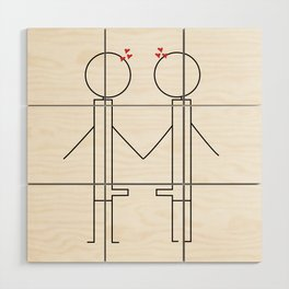 Lover Boy Wood Wall Art