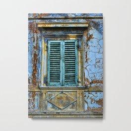 Vintage Windows Metal Print