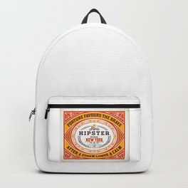 Fortune favours the Brave Backpack
