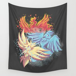 Team Battle Go! Wall Tapestry