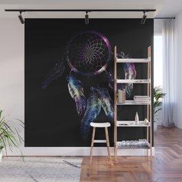 Cosmic Dreamcatcher design Wall Mural