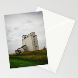 Grain Elevator on the Canadian Prairie Stationery Cards