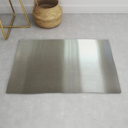 Industrial Brushed Stainless Rug