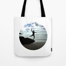 Open your mind, freedom's a state Tote Bag