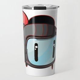 The Red Bomber  Travel Mug