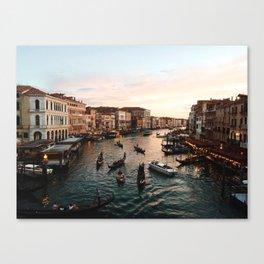 Rialto Bridge Venice Canvas Print